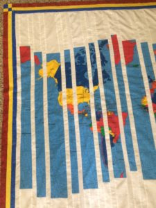 Image of Panel Quilt Top