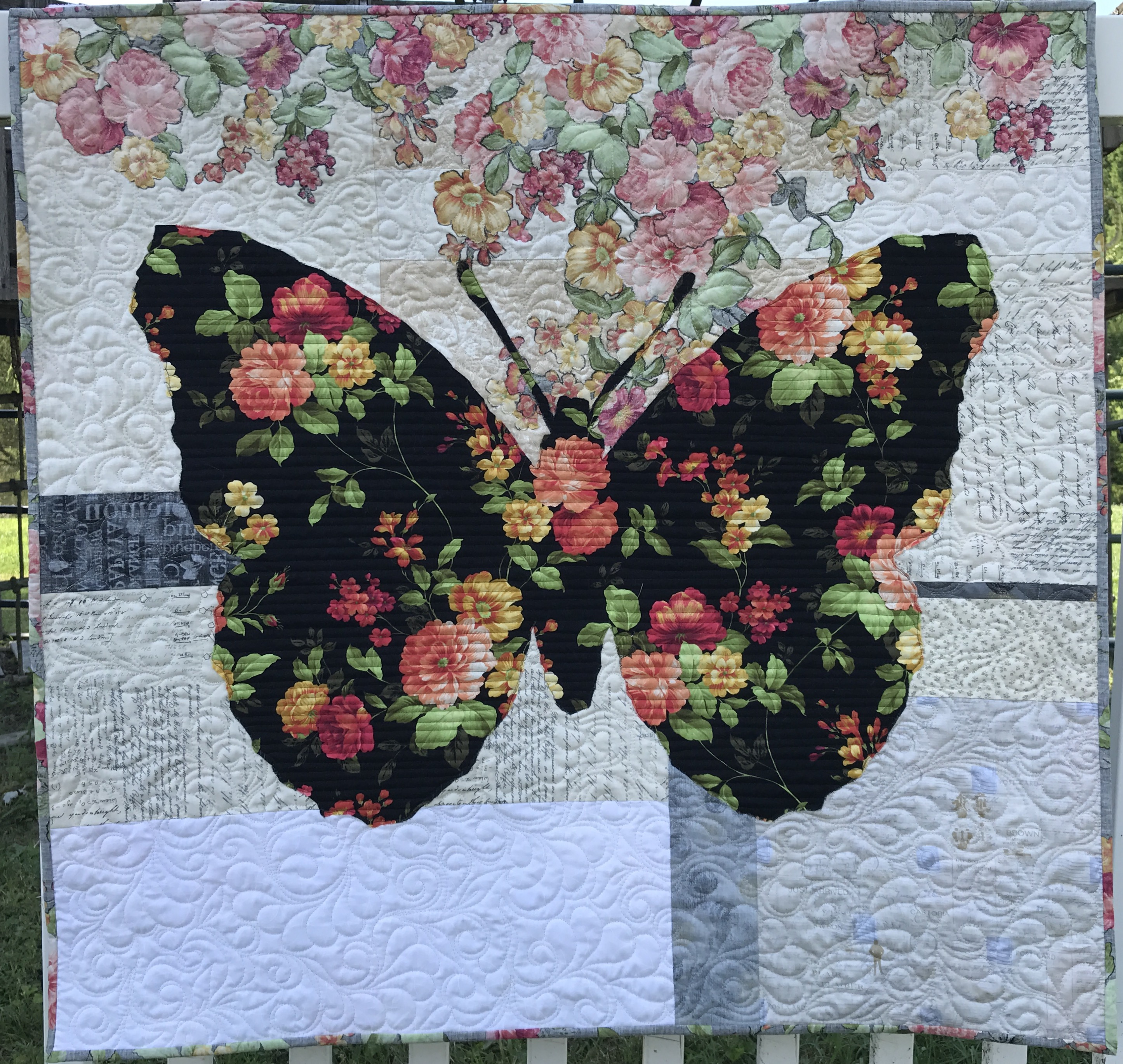 Image of butterfly quilt