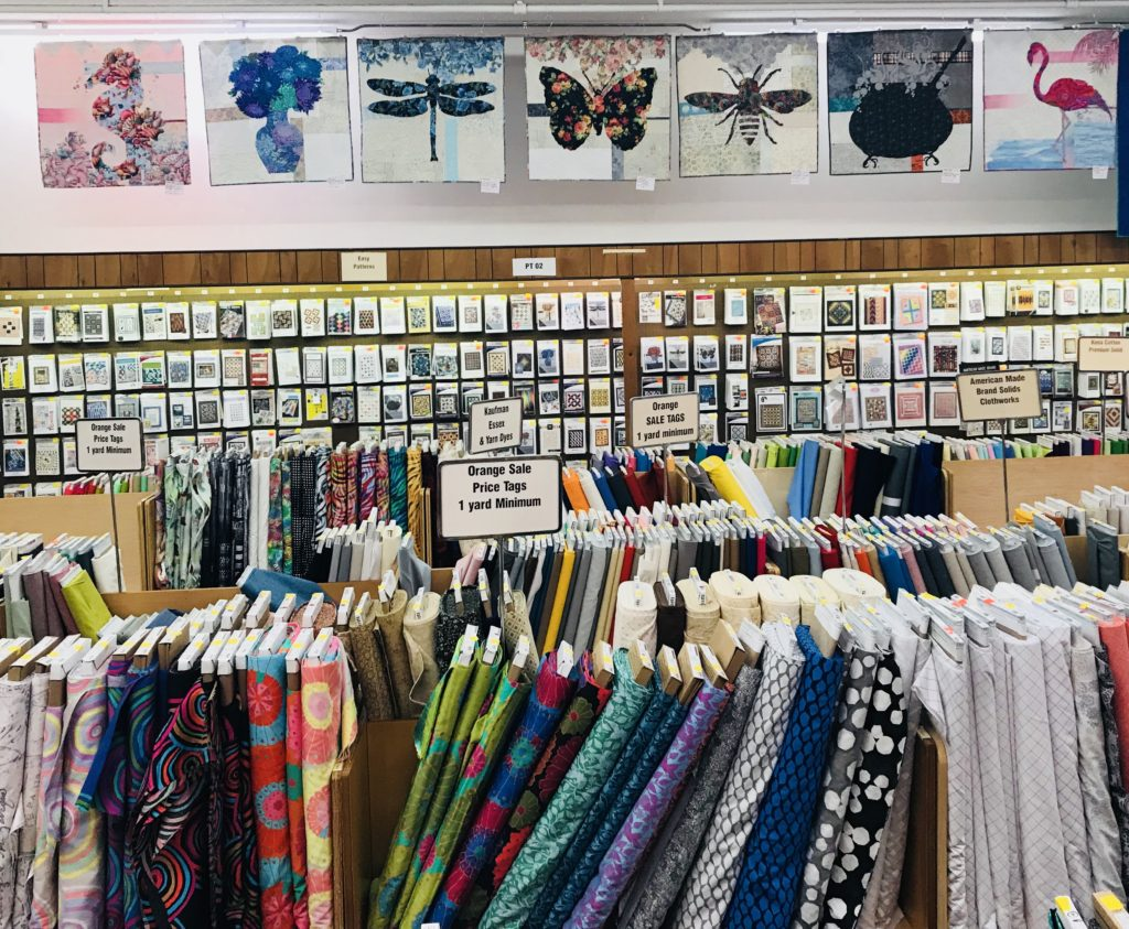 Image of Quilts Hanging