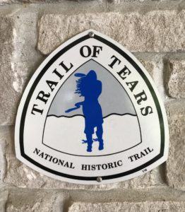 Image of Trail of Tears Sign