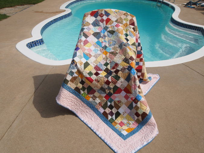 Image of Quilt by Pool
