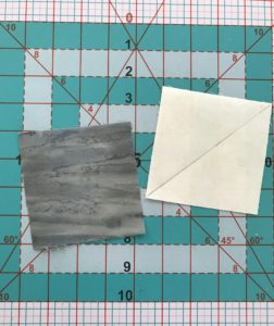 Image of Two Fabric Squares