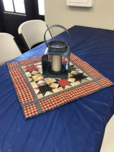 Image of Quilt and Lantern