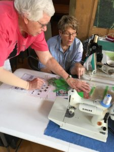 Image of Quilters Working