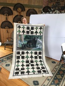 Image of Bear Quilt