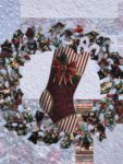 Image of Holly Wreath Quilt