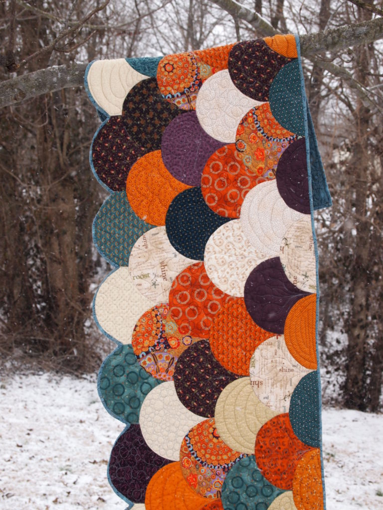 Image of Bed Runner in Snow
