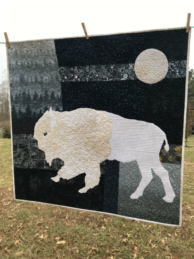 Image of Buffalo Moon Quilt