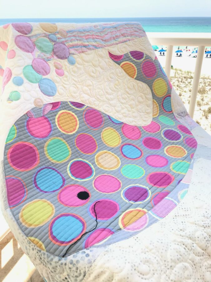 Image of Baby Whale Quilt