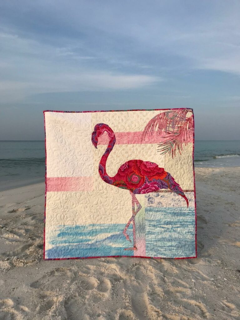 Image of Fiona Quilt at Beach