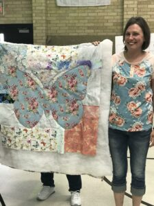Image of Quilter at Class