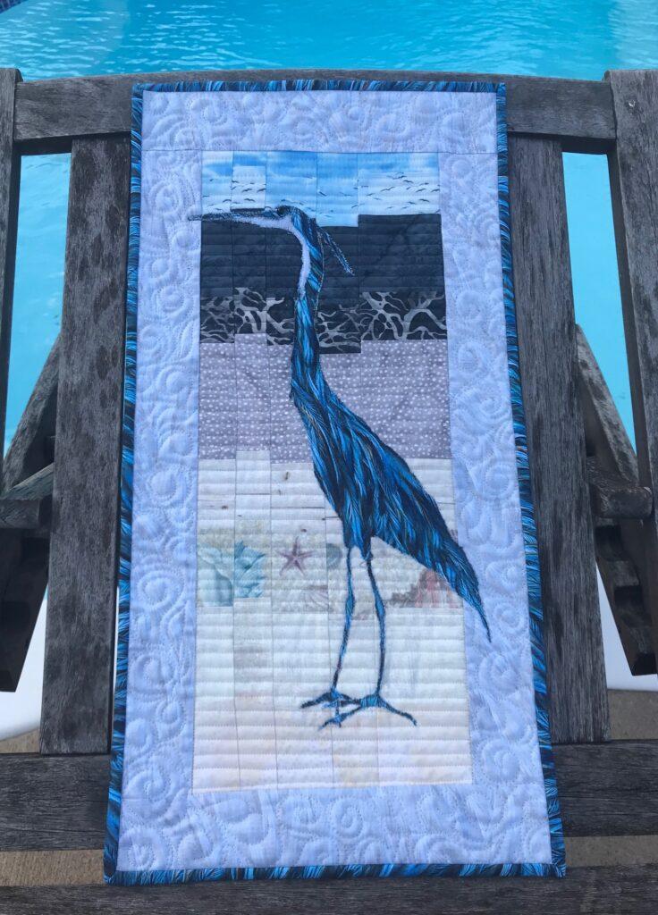 Image of Quilt of Crane