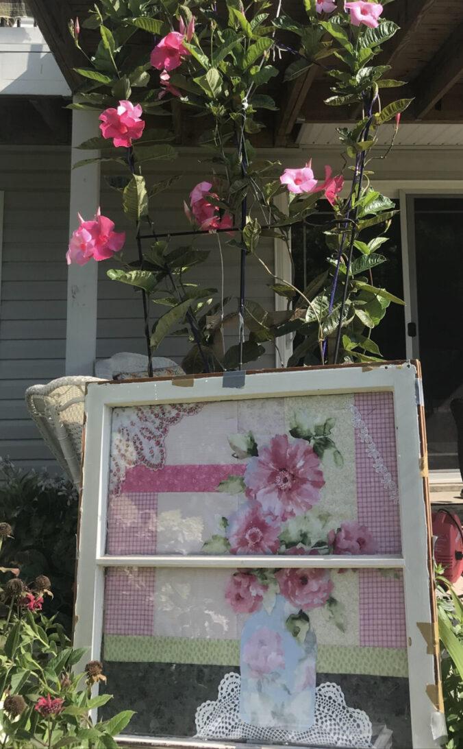 Image of Quilt in Window