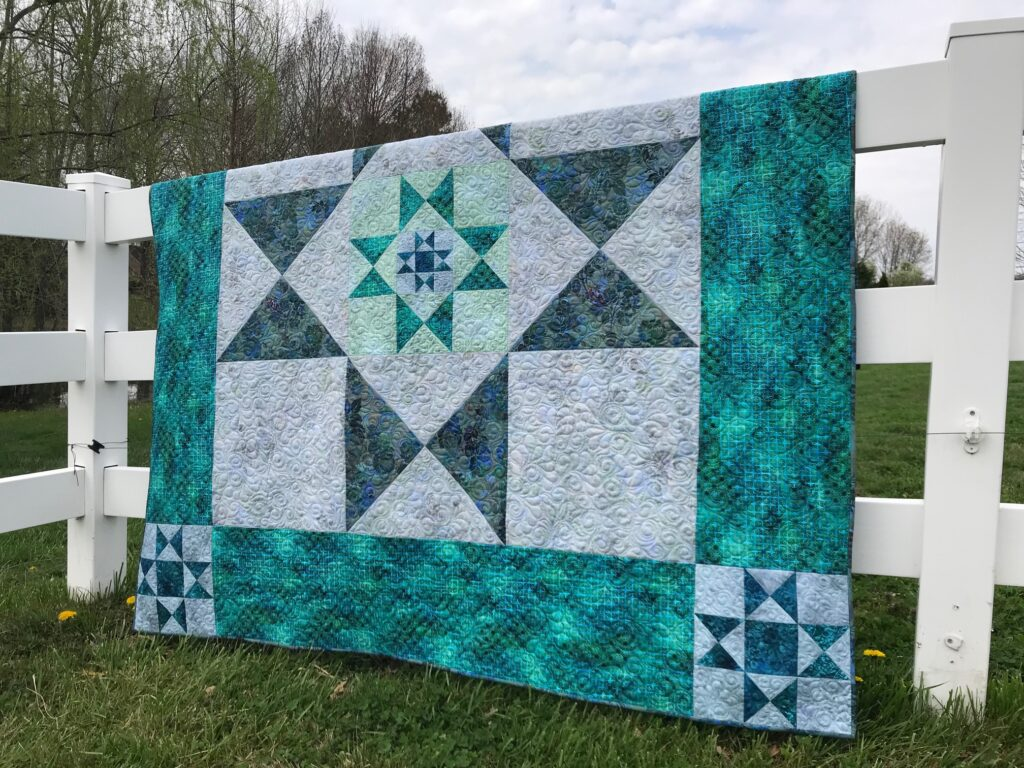 Image of Ohio Star Quilt Pattern
